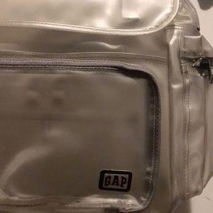 GAP Bags - Old school GAP clear backpack. 337a47efea17d